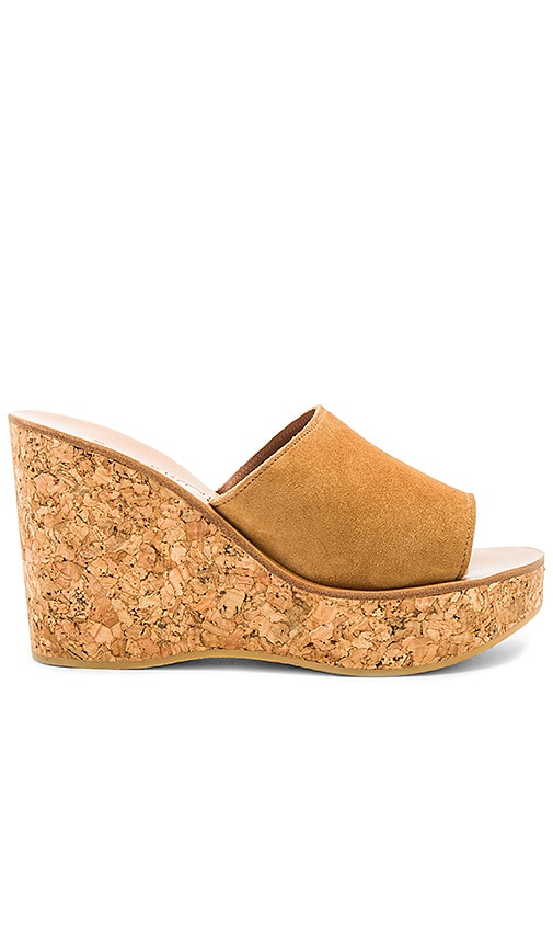 K Jacques Timor Wedge in Brown