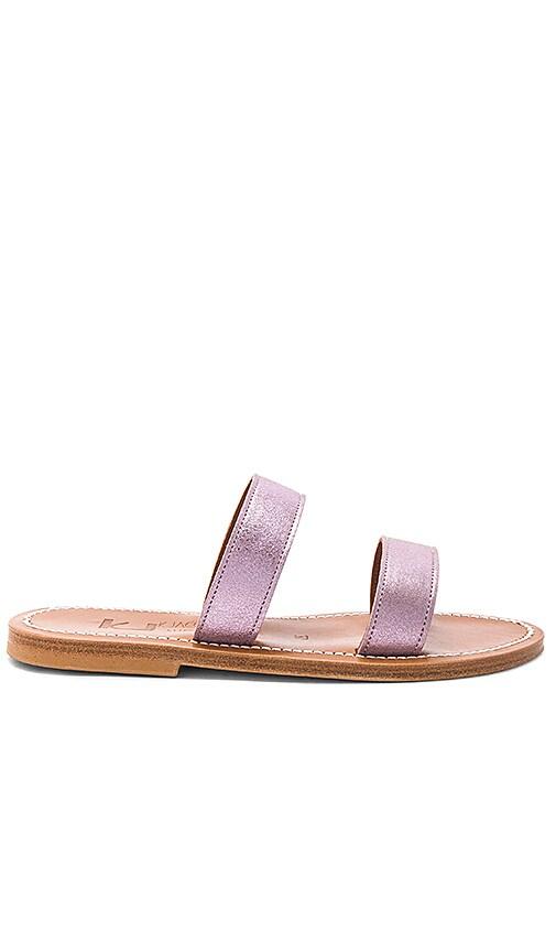 K Jacques Bagatel Sandal in Pink