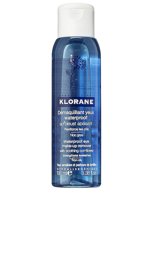 Waterproof Eye Make-Up Remover with Soothing Cornflower