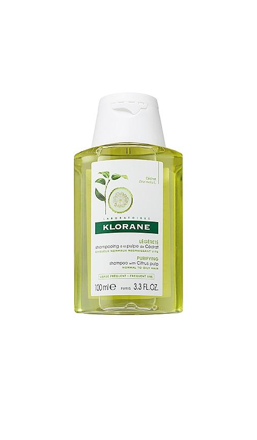 Travel Shampoo with Citrus Pulp