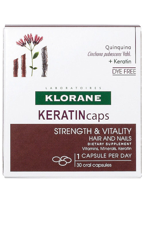SUPLEMENTO DIETÉTICO KERATINCAPS STRENGTH & VITALITY