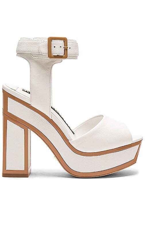 KAT MACONIE Nina Heel in White