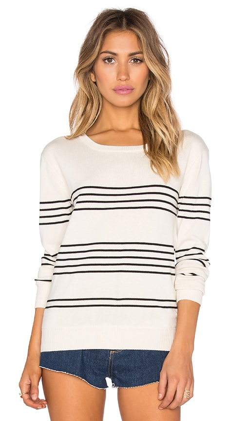 Kathryn McCarron Tilly Stripe Pullover in Cream