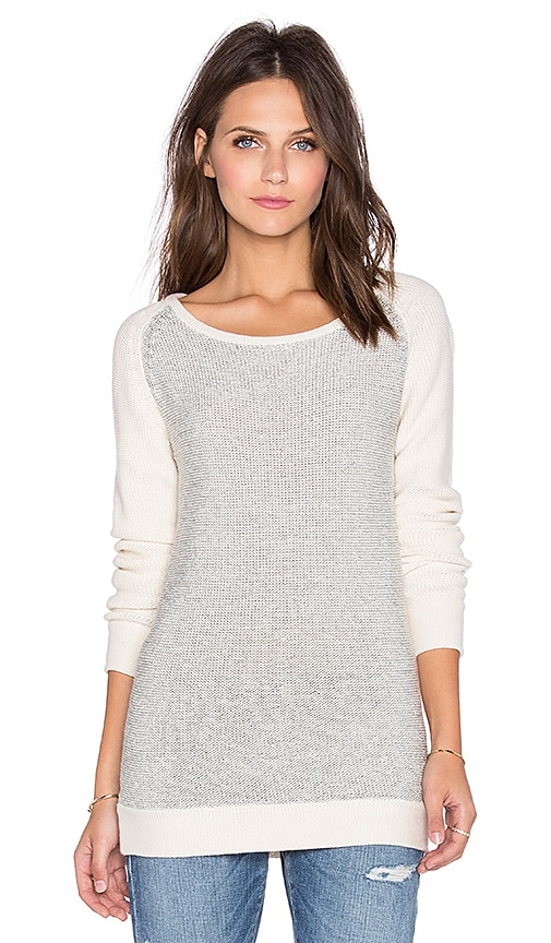 Kathryn McCarron Cora Slim Sweater in Cream