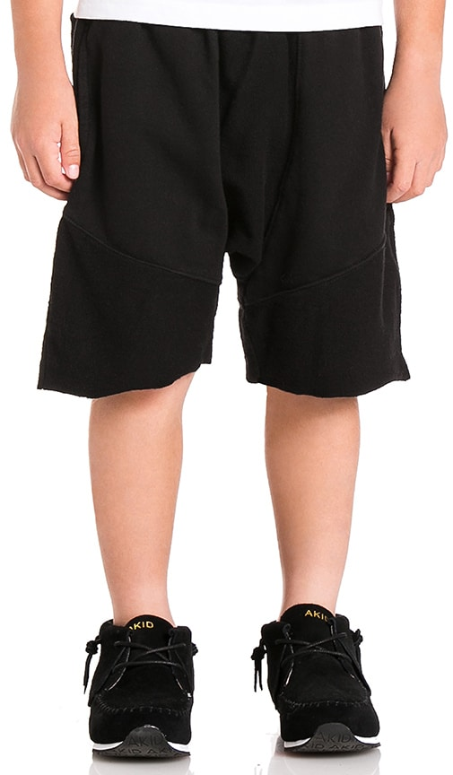 knomadik by Daniel Patrick Roaming Jogger Short in Black