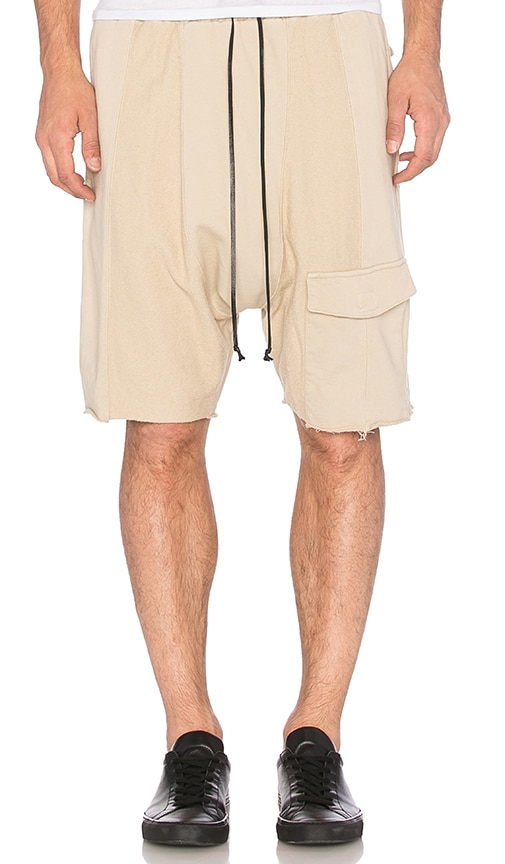 knomadik by Daniel Patrick Road Cargo Short in Beige