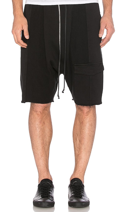 knomadik by Daniel Patrick Road Cargo Short in Black