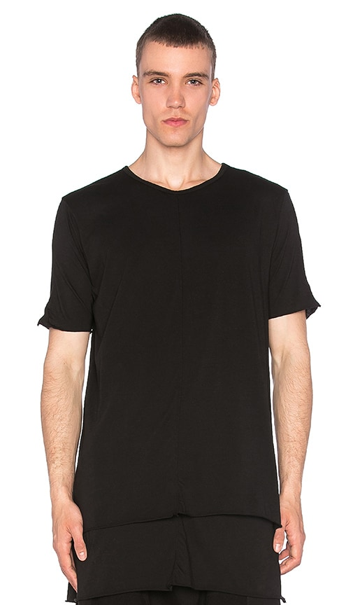 knomadik by Daniel Patrick Layered Tee II in Black
