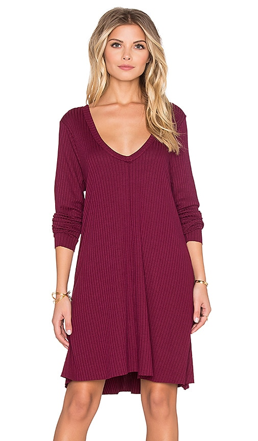 Knot Sisters Claire Dress in Purple