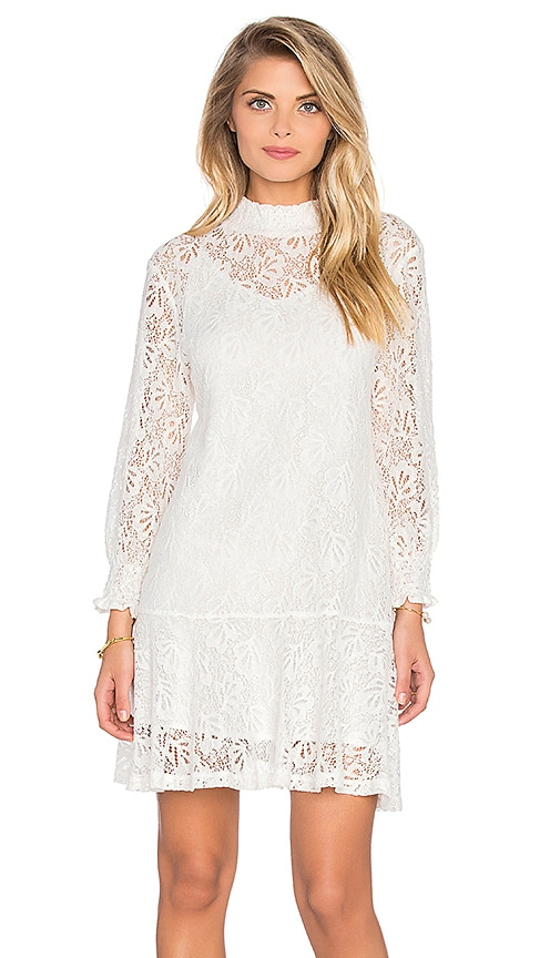 Knot Sisters Jojo Lace Dress in Natural
