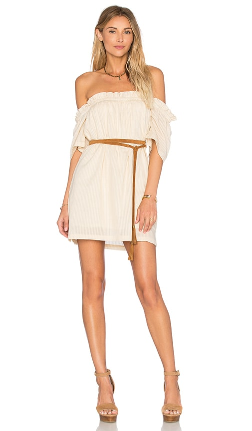 Knot Sisters Harper Tunic Dress in Beige
