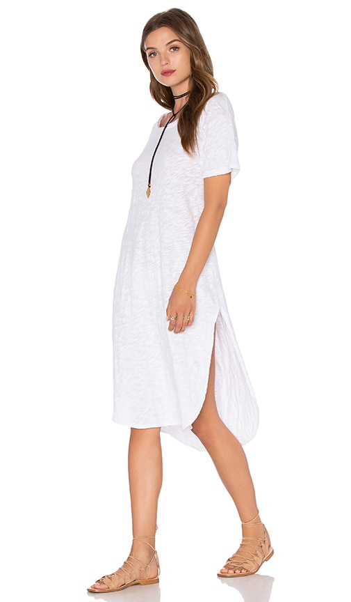 Knot Sisters India Tunic Dress in Pristine White