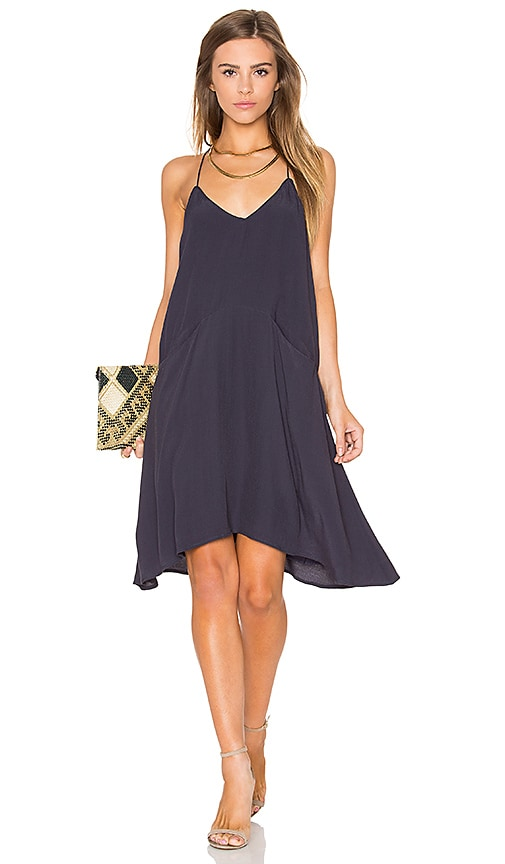 Knot Sisters Gloria Slip Dress in Slate