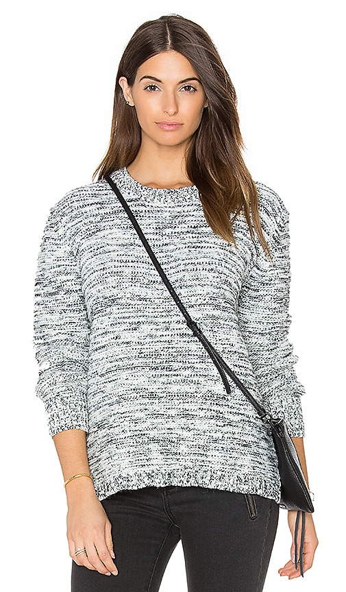 Knot Sisters Reese Sweater in Black & White