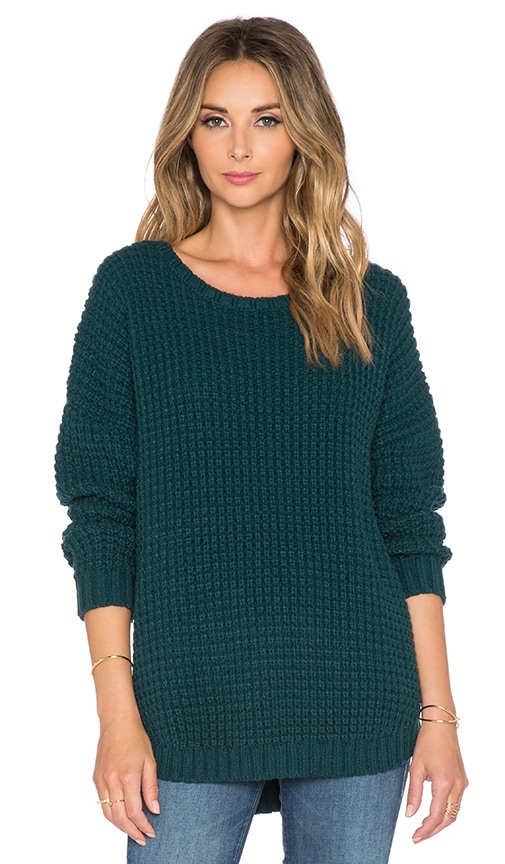 Knot Sisters Purba Sweater in Emerald