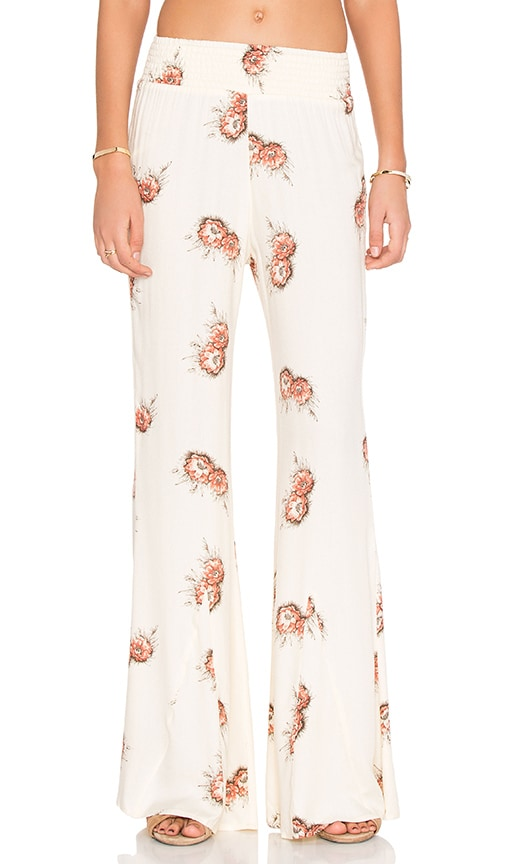 Knot Sisters Montauk Pant in Cream
