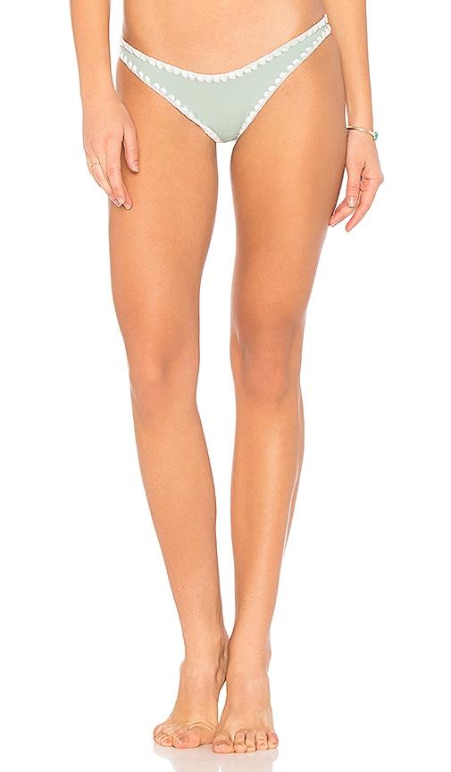 KOA Sands Reversible Bikini Bottom in Green