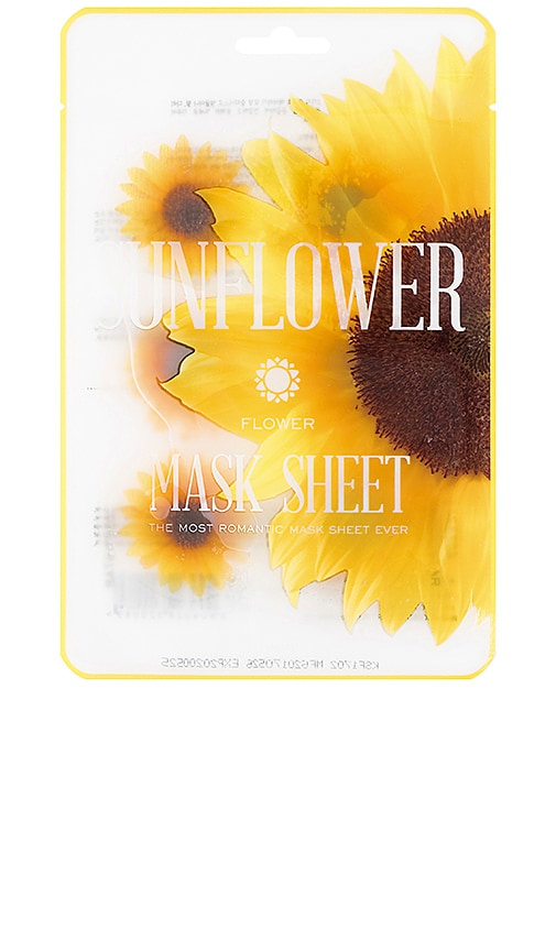 ТКАНЕВАЯ МАСКА FLOWER MASK SUNFLOWER