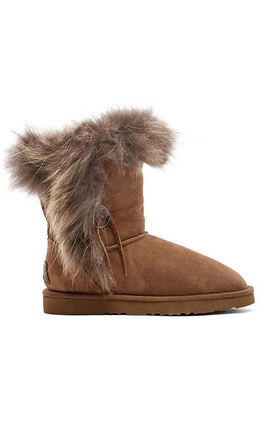 Trishka Short Fur Boot