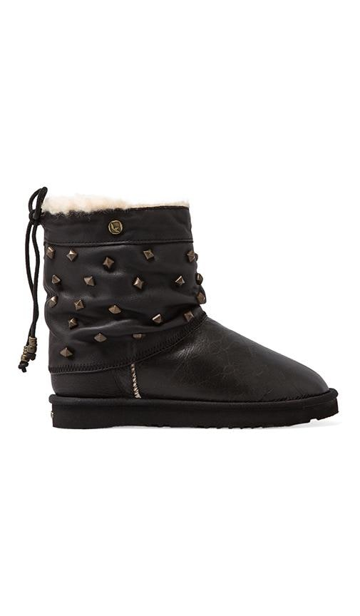 Alesta Studs Boot with Wool and Twinface Sheepskin