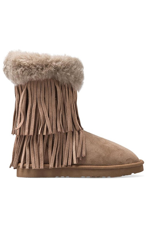 Haley II Boots with Twinface Sheepskin