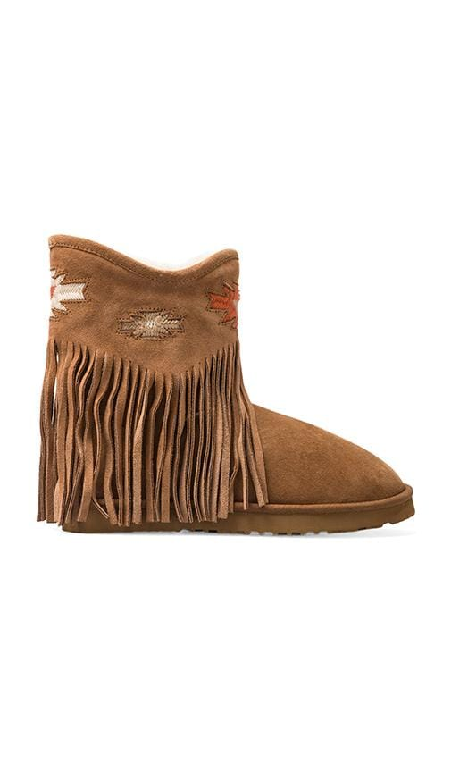 Haley Ankle Deco Boot with Twinface Sheepskin