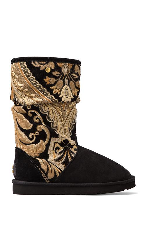 Myka Tapestry Boots with Wool and Twinface Sheepskin