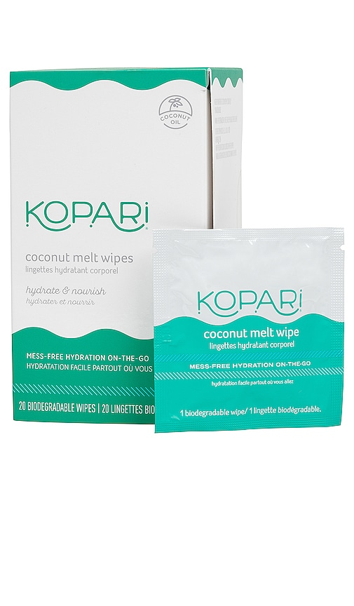 Kopari Coconut Melt Wipes In N,a
