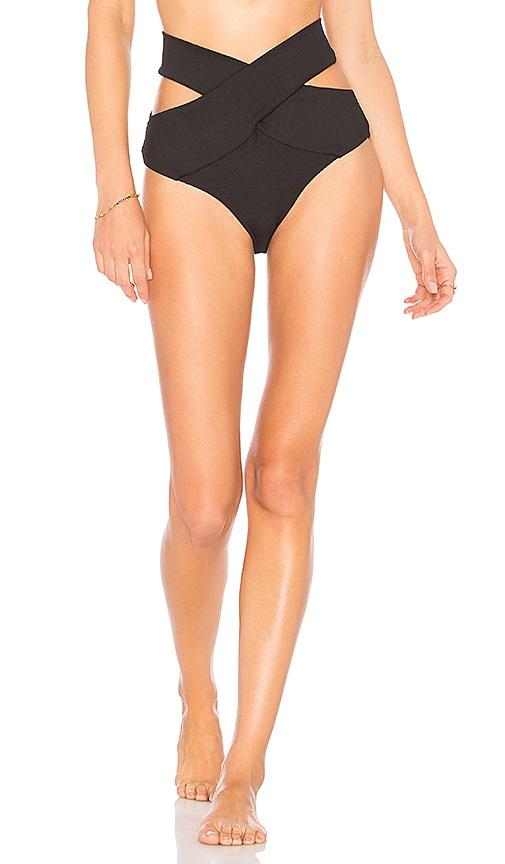 KOPPER & ZINK Duke Bikini Bottom in Black