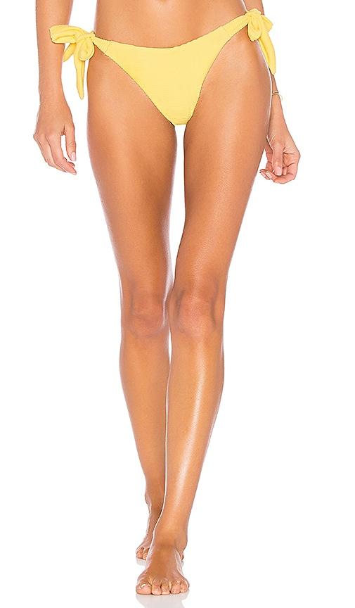 KOPPER & ZINK Tallie Bikini Bottom in Yellow