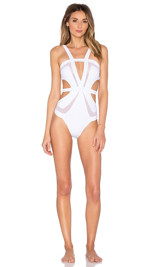 KOPPER & ZINK Brinkley One Piece in White