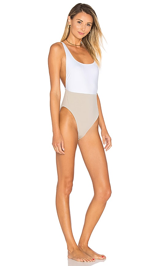 KORE SWIM NYX One Piece in Taupe