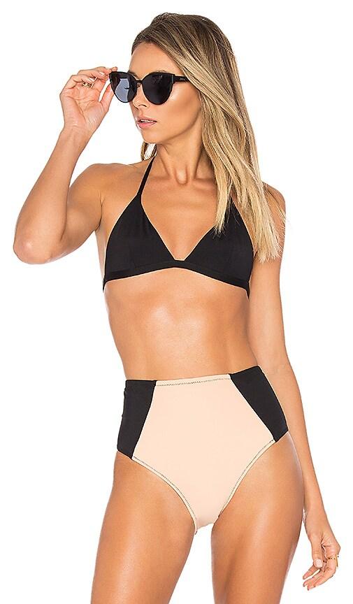 KORE SWIM Maia Bikini Top in Black