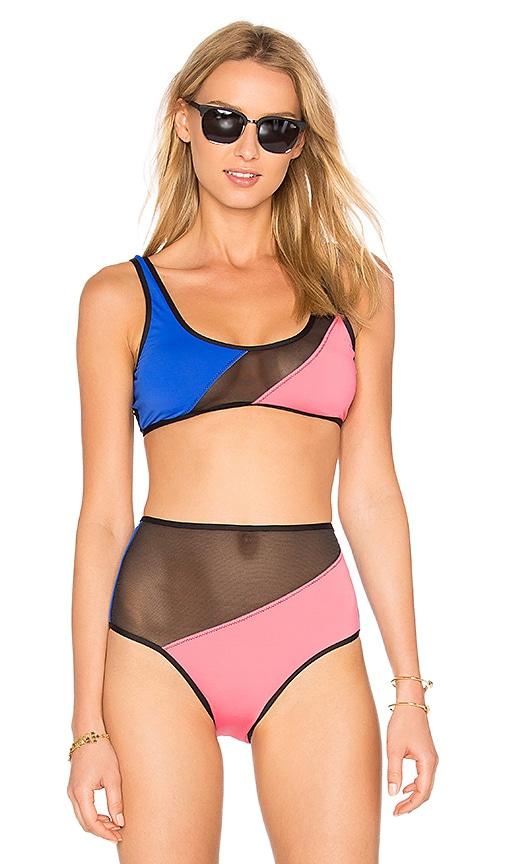 KORE SWIM Eos Bikini Top in Pink