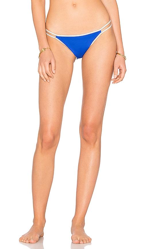 KORE SWIM Celeste Bikini Bottom in Blue