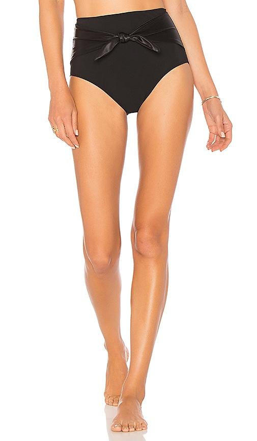 KORE SWIM Theodora Bikini Bottom in Black