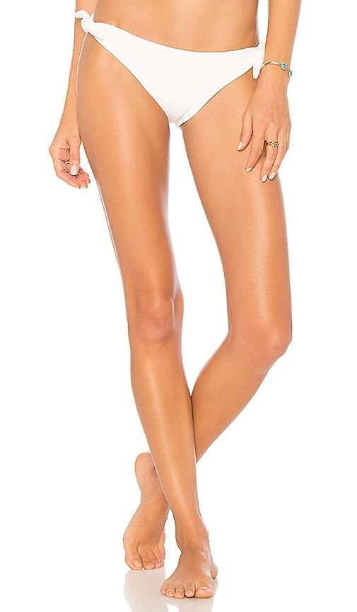 KORE SWIM Penelope Bikini Bottom in White
