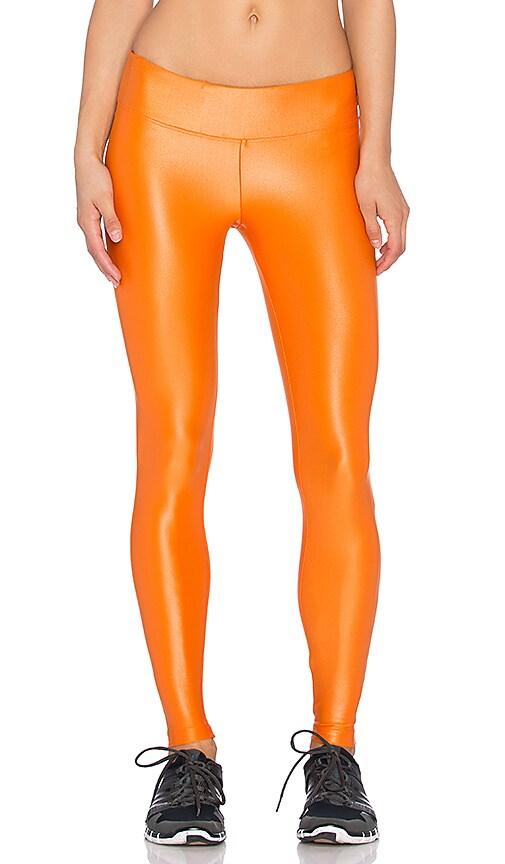 koral activewear Lustrous Legging in Tangelo