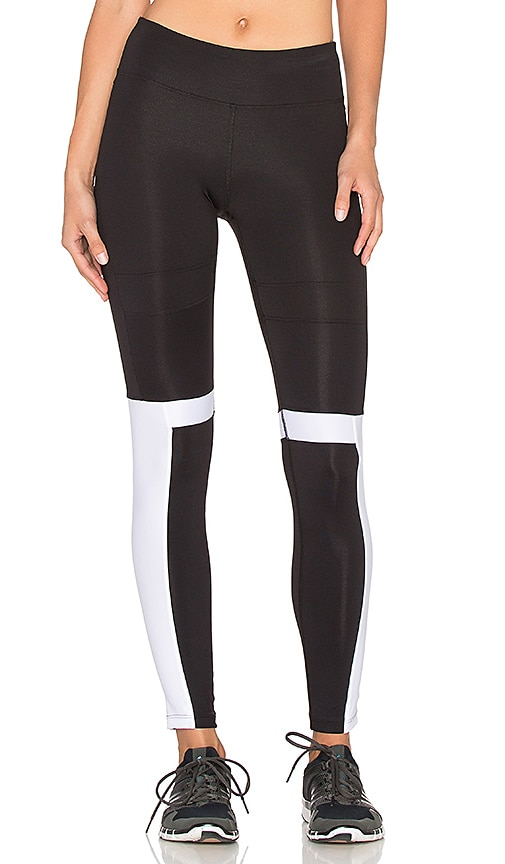koral activewear Impel Legging in Black & White