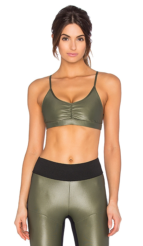 outlet boutique low price sale classic KORAL Element Sports Bra in Olive   REVOLVE