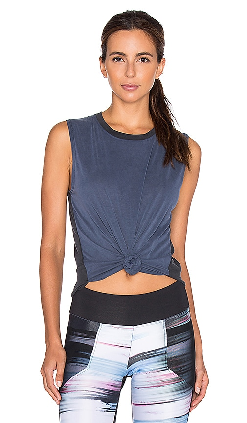 KORAL Rider Sleeveless Tank in Navy & Black