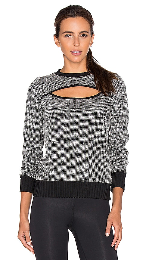 KORAL Breach Open Front Pullover in Black