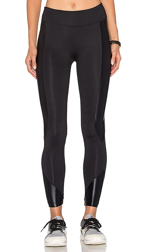 KORAL Curve Crop Legging in Black