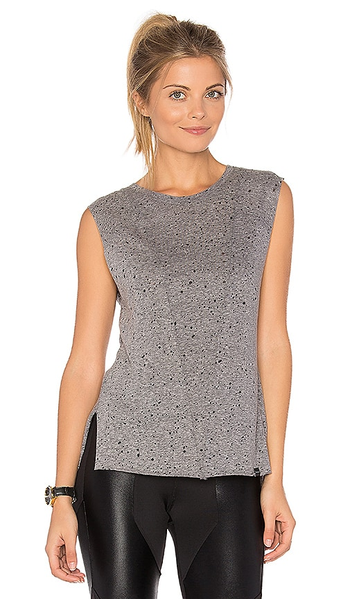 KORAL Move Crop Top in Gray