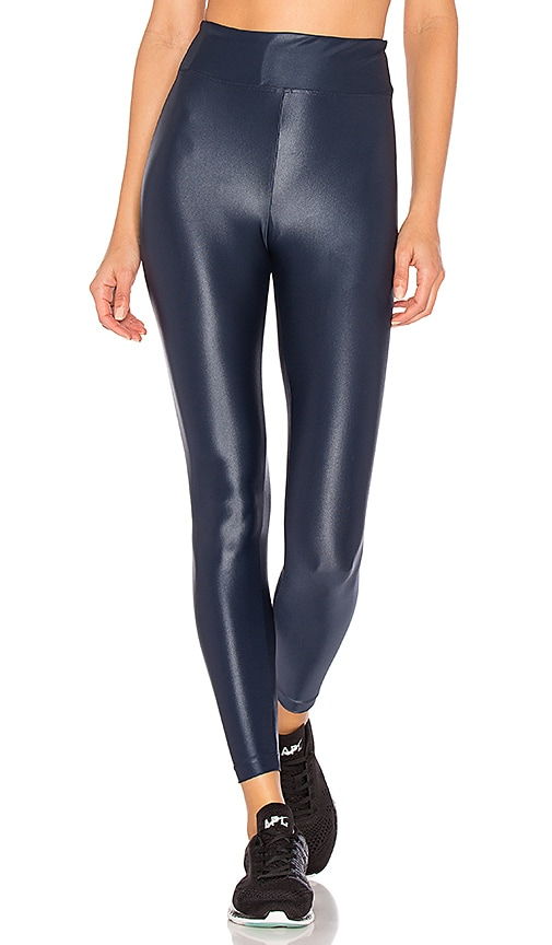 KORAL Lustrous High Rise Legging in Blue