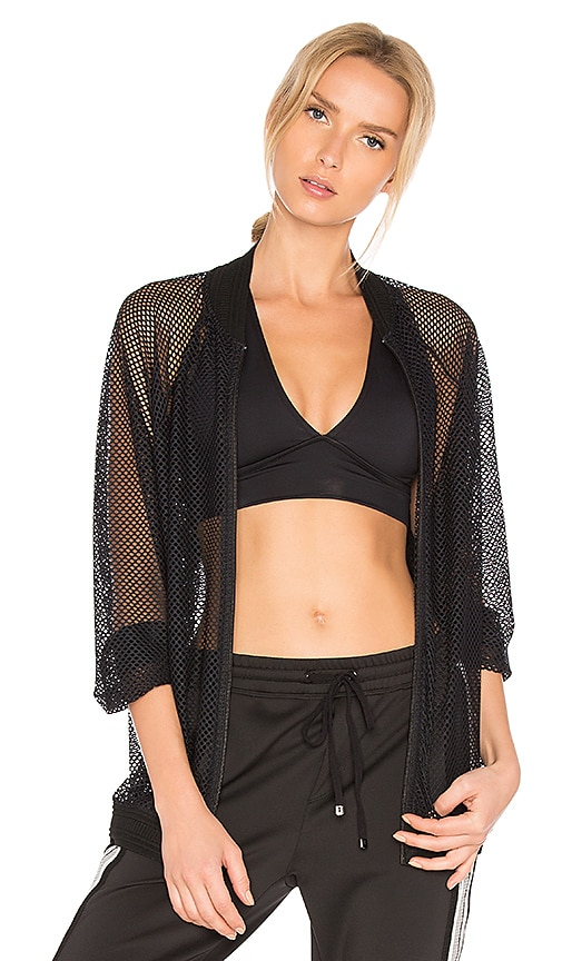KORAL Mesh Bomber in Black