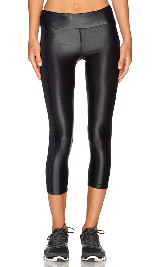 KORAL Dynamic Duo Capri Legging in Black