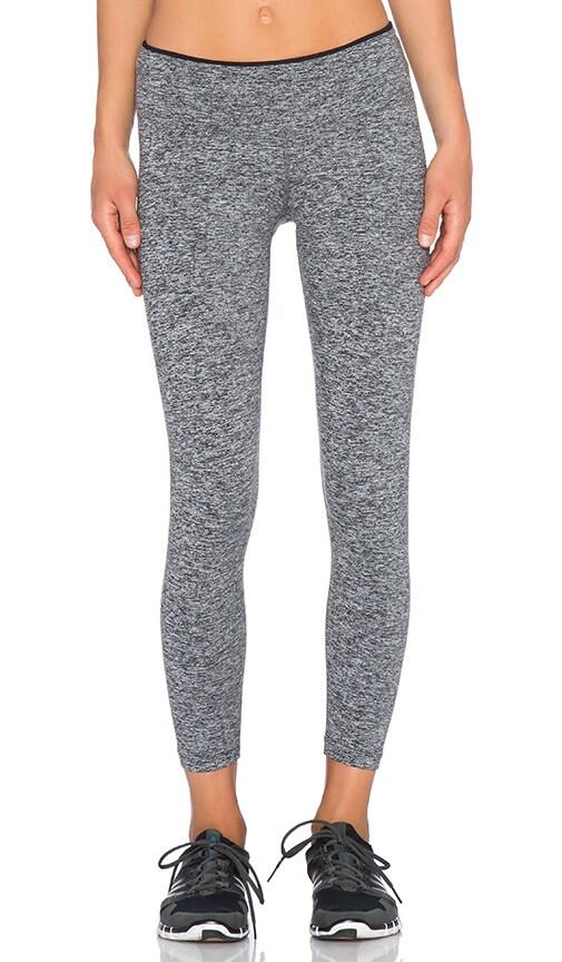 koral activewear Core Mystic Capri Legging in Heather Grey & Black