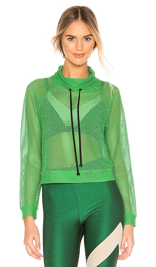 Pump Open Mesh Pullover by Koral