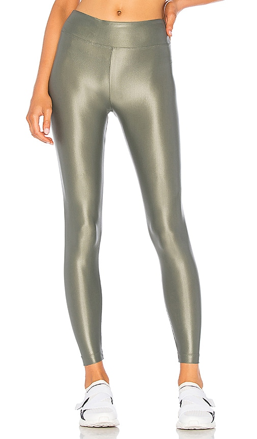a08caa79 KORAL Lustrous High Rise Legging in Agave   REVOLVE
